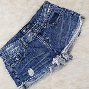 PINK VS Jean shorts